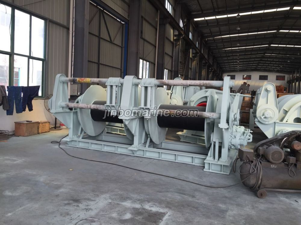Double Drum Mooring Winch