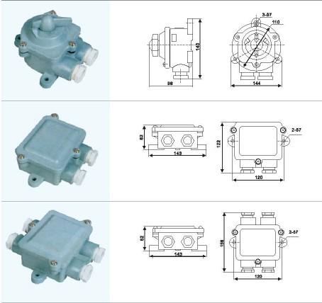 Marine Watertight Junction Box And Switch K 2mr J 1m J 2m