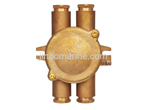 10a 16a Marine Brass Junction Box Jxh Buy Electrical