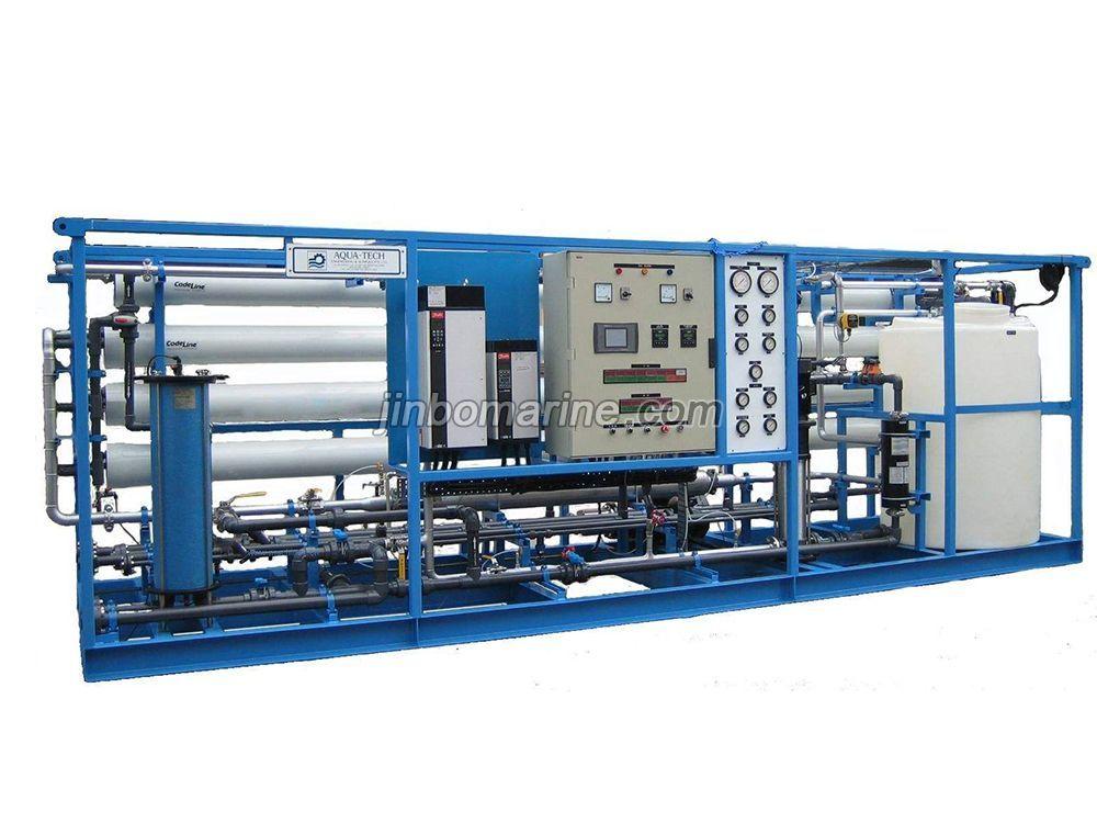 150ton Per Day Reverse Osmosis Seawater Desalination