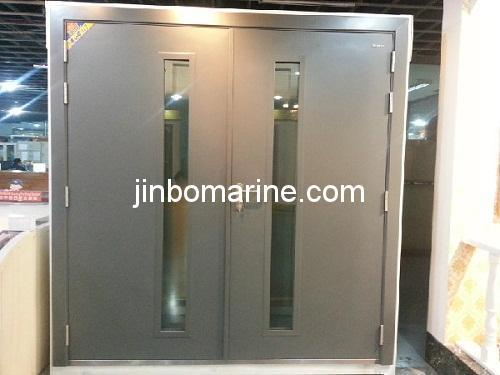 Metal Double Doors 60min fire froof hollow metal double doors, buy steel fire door