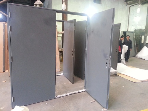 90min Fire froof hollow metal door , Buy Steel fire door with WH