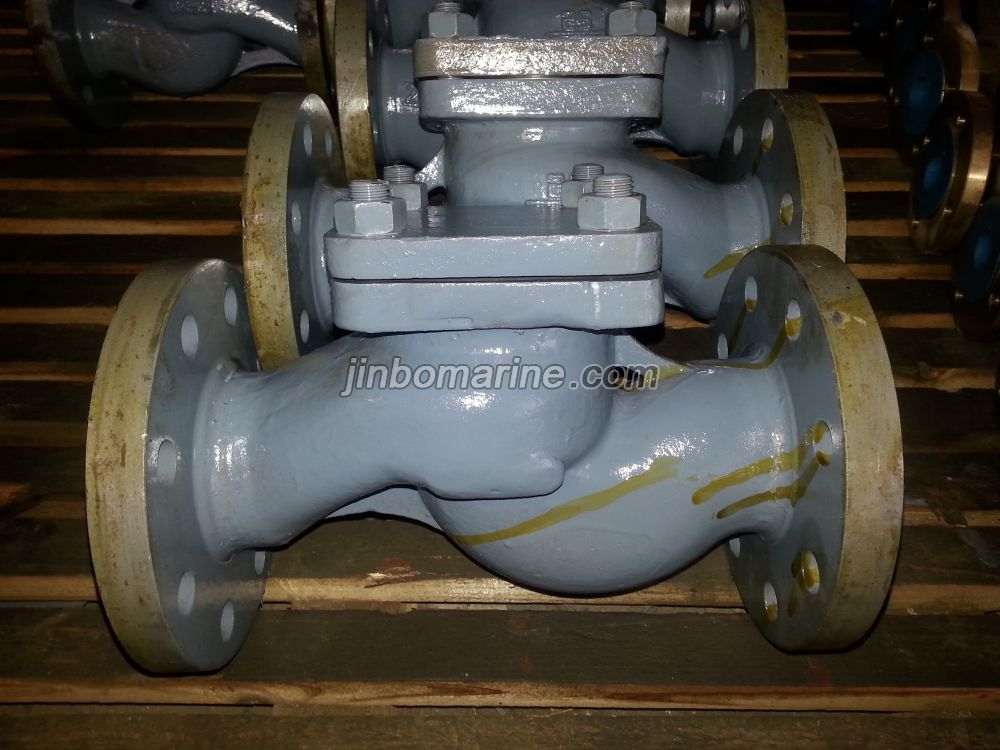 Marine Cast Steel Lift Check Valve GB/T586-1999 Type A/AS