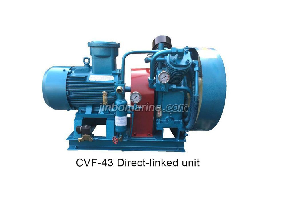 CCS Approved Marine Starting Air Compressor CVF-43