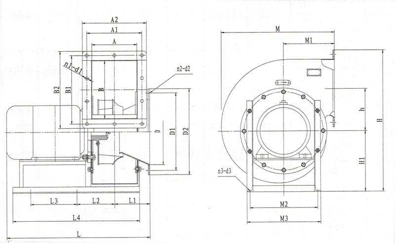 Explosion Proof Fan >> CGDL Marine High Efficiency Low Noise Centrifugal Fan, Buy ...