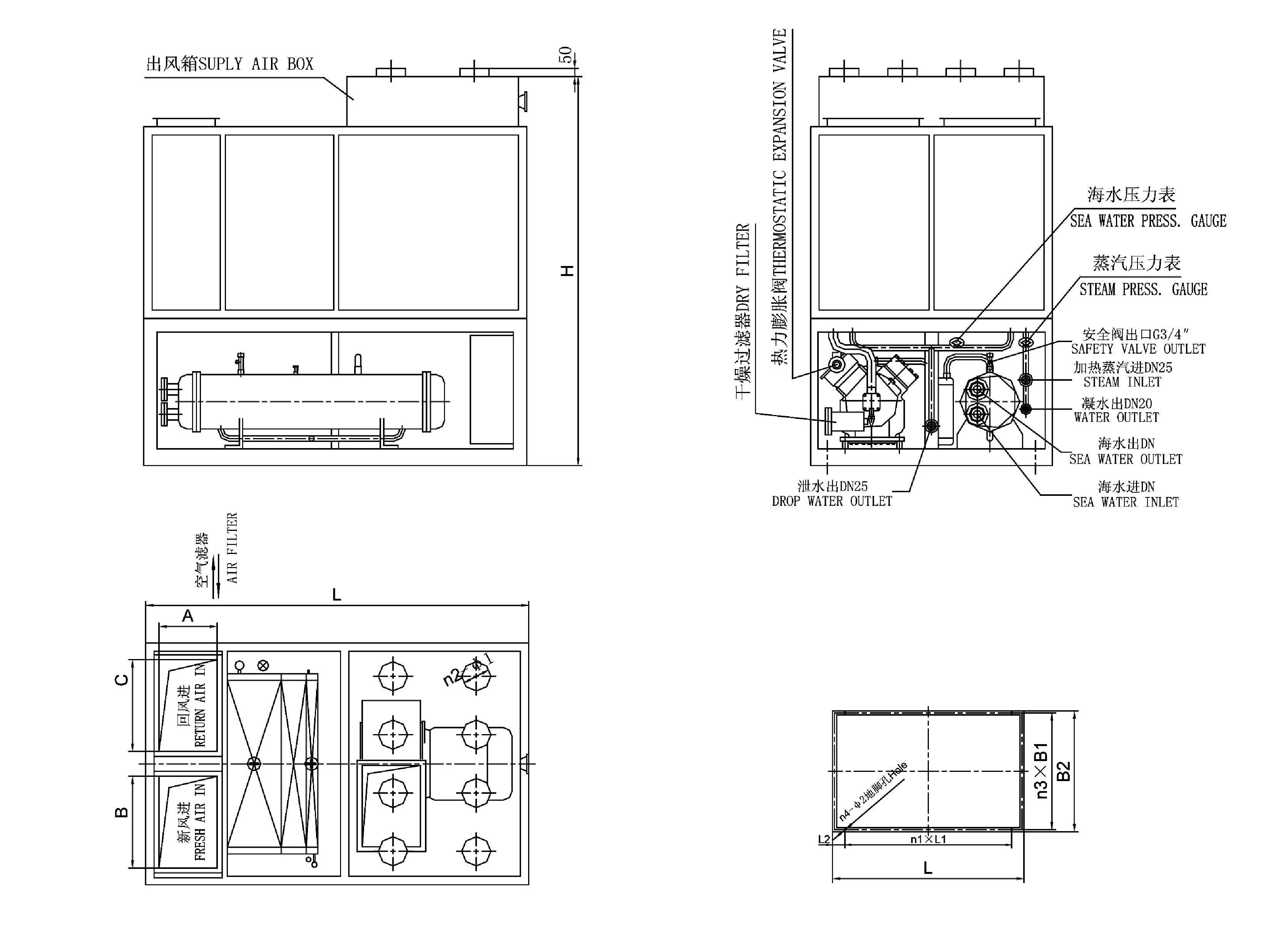 CJKR-50B-Marine-Packaged-Air-Conditioning-Unit-1 York Rtu Wiring Diagram on york heat pump wiring diagram, york ignition diagram, york heat pump parts diagram, york ac schematics, york rtu parts,