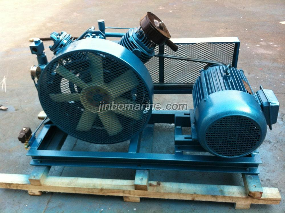 Air Compressor Cooler : Direct connection type air cooling marine compressor