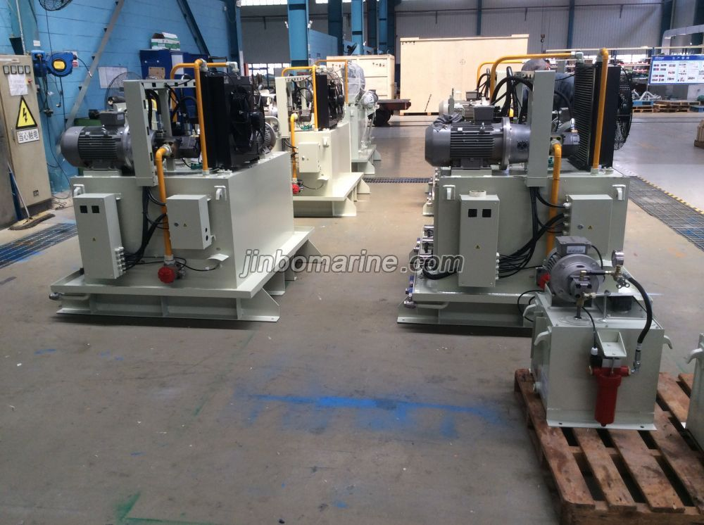 Deck Machinery Hydraulic System