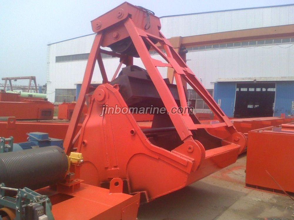 16t Crane Electric Hydraulic Clamshell Grab Bucket For