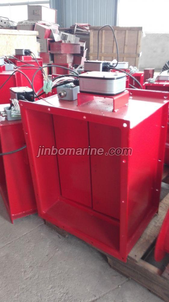 Marine Rectangular Electric Fire Damper Buy Marine Fire