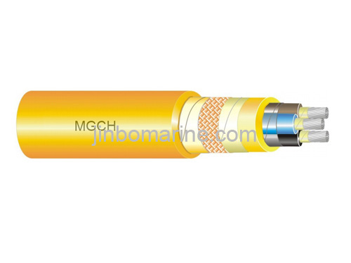 MGCH ship and offshore armored halogen-free lighting  &  Power cable