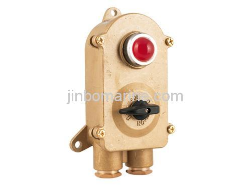 Marine Light Switches: Marine Brass Switch with Indicator Light HSD2-2,Lighting