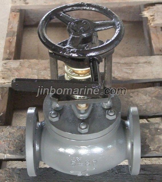 Marine Cast Steel Emergency Shut Off Valve Jis F7399 5k