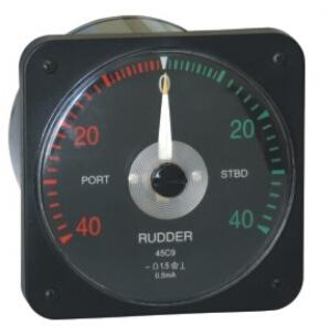 Marine Light Transmission Rudder Angle Meter