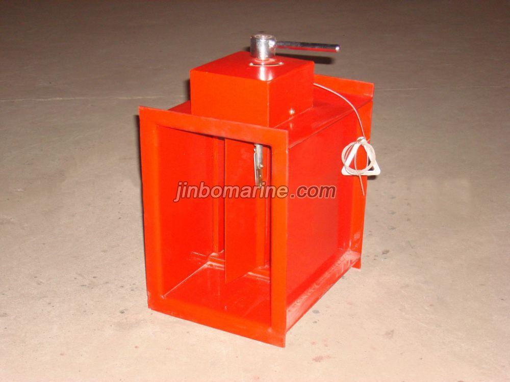 Marine Rectangular Manual Fire Damper