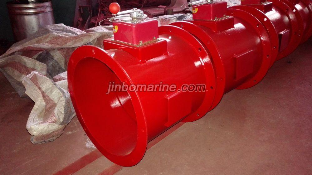 Marine Round Manual Fire Damper