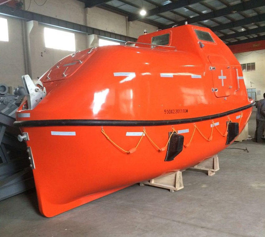 Normal Type Totally Enclosed Lifeboat/Rescue Boat