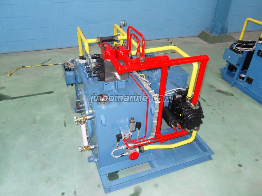 Hydraulic System For Steering Gear Buy Deck Machinery