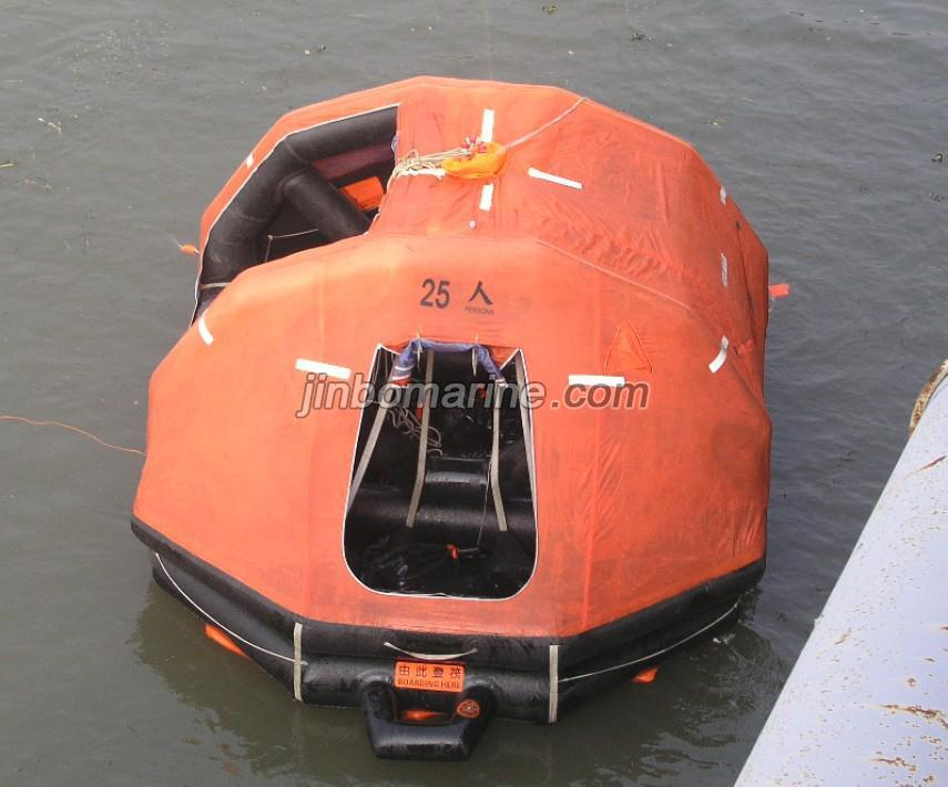 Self Righting And Davit Launched Inflatable Liferaft Buy
