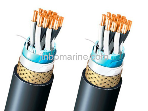TFOI(c) Flame Retardant Marine Telephone Collective Screen Cable 250V (Light Wei