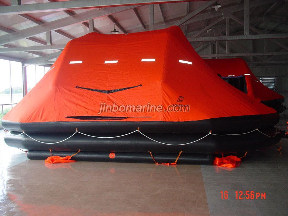 Throw Over Board Inflatable Liferaft SOLAS A PACK, Buy Life Raft