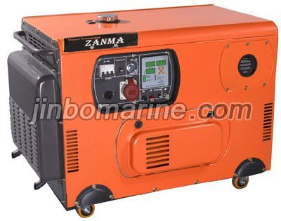Two cylinder Air-cooled diesel generator