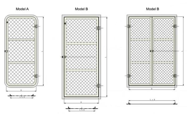 Wire Mesh Door Buy Marine Door From China Manufacturer