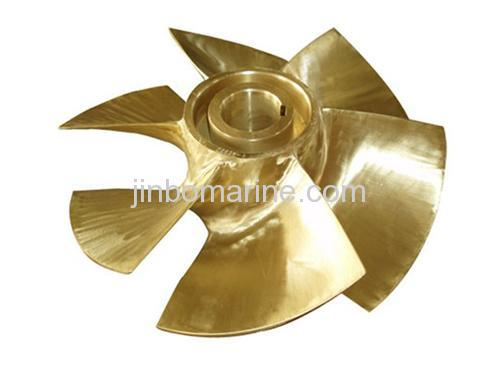 Water jet propulsion six blade propeller buy marine