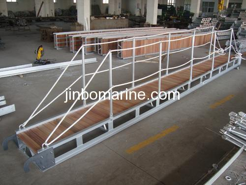 China Aluminum Gangway With Hardware Step For Sale