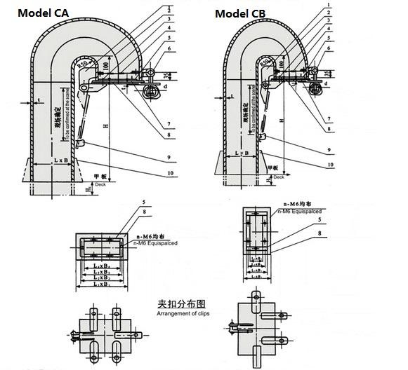 gooseneck ventilator  marine ventilator for sale