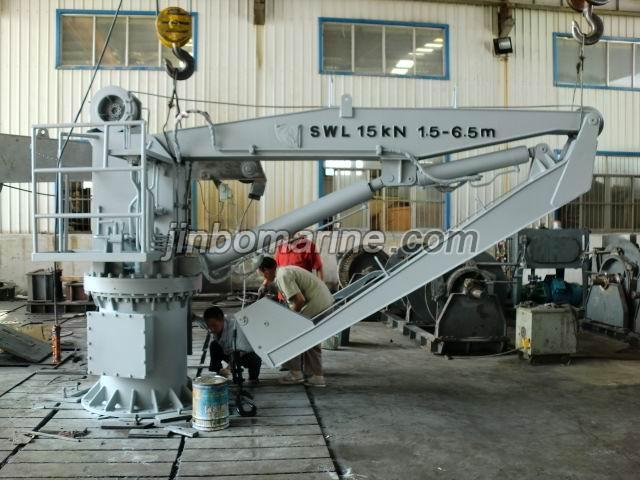 Marine Knuckle Jib Crane Buy Marine Davit And Crane From
