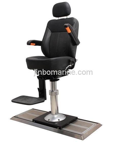 Marine Aluminum Alloy Pilot Chair With Rail TR-004, Buy