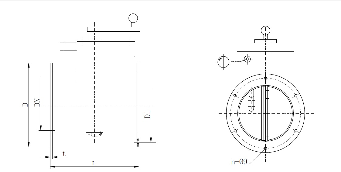 Fire Damper Is Intended For Ventilation Duct With Requirement When On The Temperature Inside Reaches 70 Will