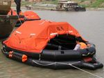 15 Persons Throw-Over Board Inflatable Life Raft