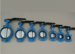 Wafer Centric Butterfly Valve with Lever