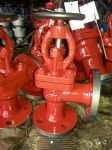 Marine Cast Iron Angle Globe Valve GB/T590-2008 Type B/BS
