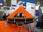 Davit-Launched Inflatable Life Raft