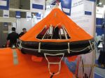 HNF-D Model Davit launched Inflatable liferaft