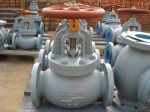 Marine Cast Iron Screw Down Check Globe Valve JIS F7375 10K
