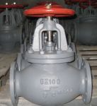 Marine Cast Steel Screw Down Check Globe Valve JIS F7311C 5K