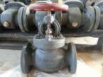 Marine Cast Steel Screw Down Check Globe Valve JIS F7471 10K