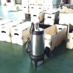WQ (D) cutting submersible pump