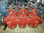 Marine Cast Iron Single Arrangement Suction Stop Box Valve GB/T1854-93