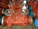 Marine Cast Iron Dual Row Stop Valve Case GB/T2499-93