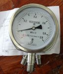 YC-100T-N Anti-Vibration Gauge With Valve