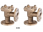 Marine Bronze Angle Lift Check Valve GB/T589-93 Type B/BS