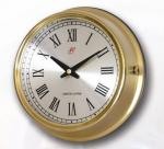 Marine Brass Slave Wall Clock