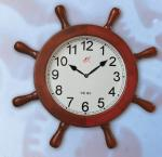 Marine Wood Decorative Slave Clock